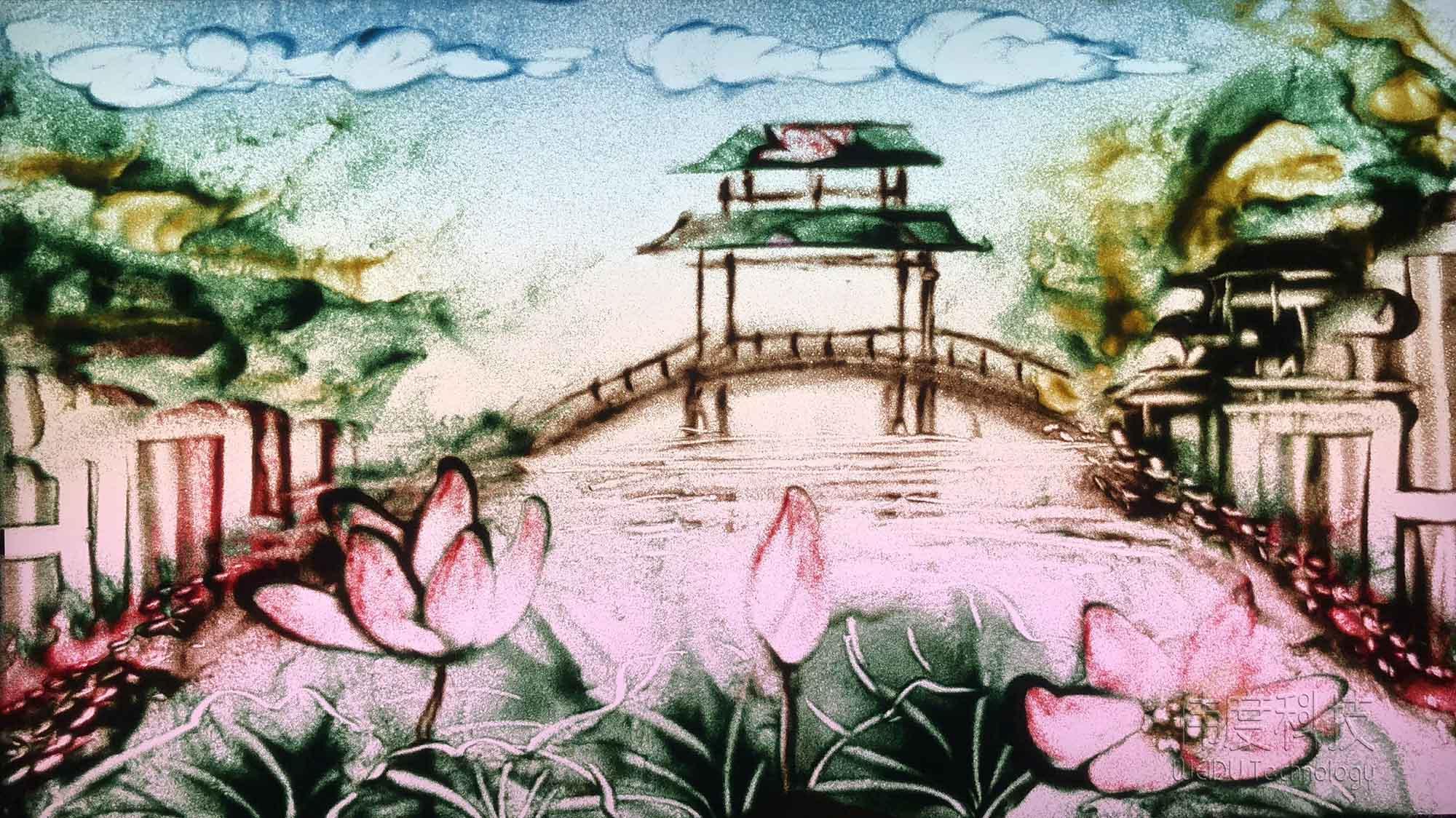 """广州沙画《沙龙系列---""""沙情画意""""》活动9月22日等您!"""